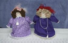 Made-in-the-USA Red Hat Society Cloth Toilet Paper Cover