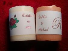 Personalized Votive Candle Wedding Favor Labels