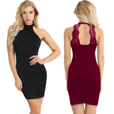 Women Bodycon Slim Short Midi Dress Evening Cocktail Party Clubwear Pencil Dress