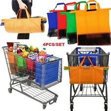 Cart Trolley Supermarket Shopping Bag Grocery Grab Shopping Bags Foldable Tote