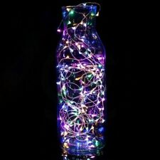 Waterproof Battery Power 20 LED Copper Wire Tea Candle Base Fairy String Lights