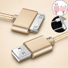 Data Sync USB Charger Cable For Apple iPhone 4 4S Tablet 2 3 Nano Metal New