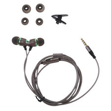 MagiDeal In Ear Headphones With Microphone /Volume Control 3.5mm Earbuds