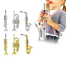 Children Musical Toy Emulational Trumpet Saxophone Horn for Kids Gift