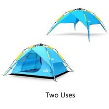 Automatic Outdoor Camping Tent 4 Person Family Double Layer Waterproof Fishing
