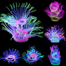 Sea Anemone Aquarium Artificial Coral Plant Fish Tank Water Ornament Decoration