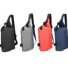 Small Canvas Crossbody Shoulder Chest Sling Bag Sports Cycle Travel Backpack