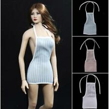 12 inch Action Figure Outfit Clothes 1/6 Backless Package Hip Halter Skirt Dress