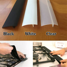 Kitchen Stove Counter Gap Cover Oven Guard Spill Seal Slit Silicone Filler NEW