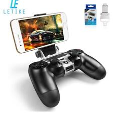Wireless Controller Stand PS4 Phone Clip Holder Playstation Slim 180 Degree Tool