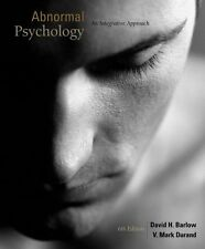 Abnormal Psychology : An Integrative Approach by V. Mark Durand and David H....