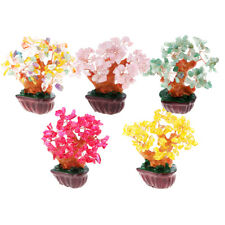 4.7'' Crystal Money Tree to Bring Wealth Good Luck Home Decor Business Gift