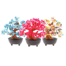7'' Crystal Money Tree to Bring Wealth Good Luck Home Decor Business Gift