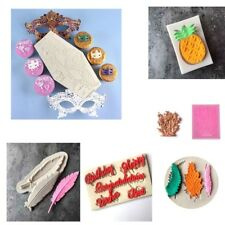 3D Silicone Chocolate Cake Fondant Mould Baking Cookie Decorating Mold DIY Tools