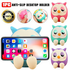 Owl Multi-function Piggy Bank Saving Coin Box Phone Stand Holder for Phones