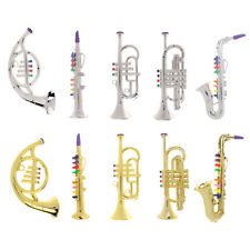 Kids Pretend Play Musical Saxophone/ Trumpet Horn Instrument Toys Intellectual
