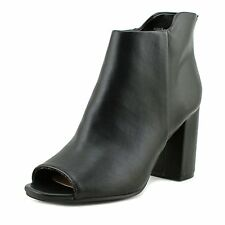 Seven Dials Womens Tinsley Peep Toe Ankle Fashion Boots