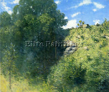 WEIR JULIAN ALDEN RAVINE NEAR BRANCHVILLE ARTIST PAINTING OIL CANVAS REPRO ART