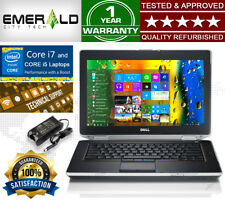 "DELL LATITUDE E6420 14.1"" NOTEBOOK DVDRW HDMI WIFI BACKLIT WEBCAM WIN 10 PC"