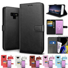 Magnetic Flip Leather Wallet Case for SAMSUNG Note9/S8 S9 Plus/J6 A6 Stand Cover