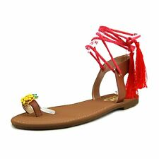 Circus by Sam Edelman Womens Binx-5 Fabric Open Toe Casual Ankle Strap Sandals