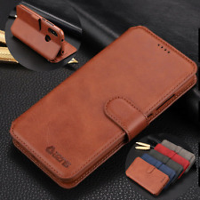 For Samsung Galaxy Note 10+ S9 S8 S10 Plus Flip Leather Wallet Card Slot Case