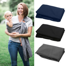 Adjustable Baby Carrier Breathable Cotton Newborn Wrap Double Ring Sling New