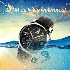SKMEI 9070 Waterproof Men Business Watch Male Quartz Wristwatch Chronograph FF