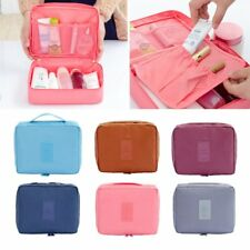Women Travel Makeup Cosmetic Bag Toiletry Case Pouch Bag Multifunction Purse Box