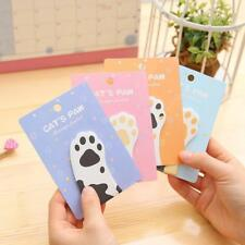 30 Pages Set Cute Cat Memo Pad  Quality Stickers Kawaii Stationery Sticky Notes