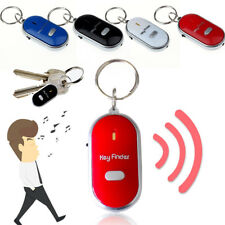 Mini LED Light Torch Remote Sound Control Lost Key Finder Locator Keychain T