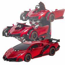 Kids Toy RC Robot Sports Car Remote Control Car Best Kids Xmas Gifts