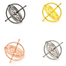 Metal Gyroscope Spinner Gyro Science Educational Learning Balance Toy Gifts s/