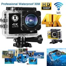 4K 2'' Ultra HD 1080P Sports WiFi Cam Action Camera DV Video Recorder Camcorder