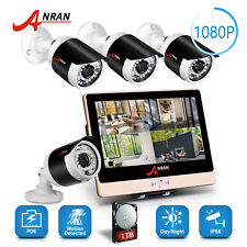 Home Security Camera System with Hard Drive and Monitor