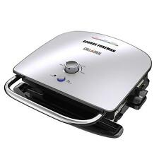George Foreman GBR5750SSQ Broil 7-in-1 Electric Indoor Grill, Broiler, Panini Pr