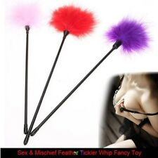 1x Feather Tickler Foreplay Tease Tactile Tool Kinky Naughty Fancy Sex Aid Toy P