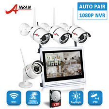 4CH HD Security System With Hard Drive