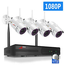 8 2MP Camera Wireless Security System with 1TB Hard Drive