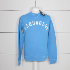 DSquared2 Logo Print Sweatshirt Blue