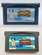 Harvest Moon Friends of Mineral Town1/2 Cartridge Game Boy Advance GBA NDS NDSL