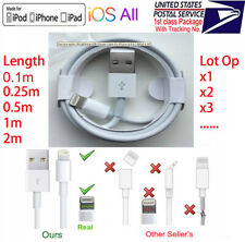 Lightning Charger Date USB Cable for OEM Apple iPhone 7 8 XR X XS max iPod iPad