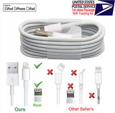 OEM Lightning to USB Charging&Data Cable Fo Apple iPhone5 6 7 8 X XS XR iPad Lot