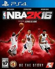 NBA 2K16 (Sony PlayStation 4, 2015)