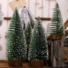 Christmas Tree Mini Small Pine Tree Placed Desktop Home Xmas Christmas Decor