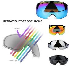 Ski Goggles Anti-fog Double Layers Lens for Snowboard Snowmobile Motorcycle