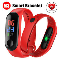 Smart Bracelet Blood Pressure Watch Wristband Heart Rate Monitor For iOS Android