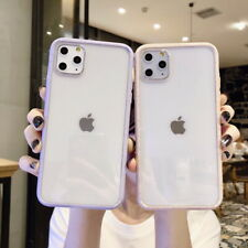 Shockproof Bumper Clear Silicone Case Cover For iPhone 11 Pro Max XS MAX XR 7 8