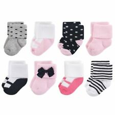 Terry Socks, 8-Pack, Little Lady