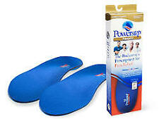 Powerstep Pinnacle Orthotic Insoles Size: E - M8-8.5 / W10-10.5